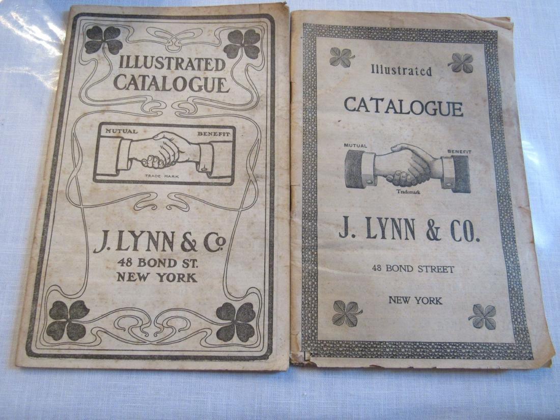 (2) J.Lynn & Co. Illus. catalogs 1800's