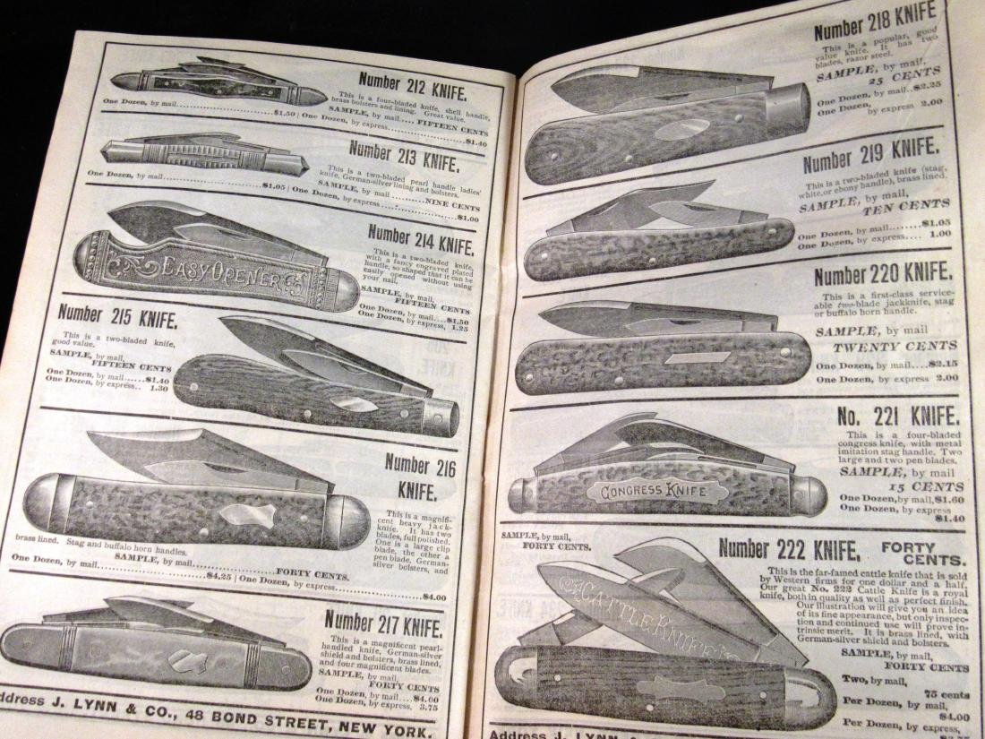 (2) J.Lynn & Co. Illus. catalogs 1800's - 3