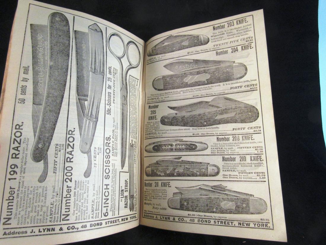 (2) J.Lynn & Co. Illus. catalogs 1800's - 4
