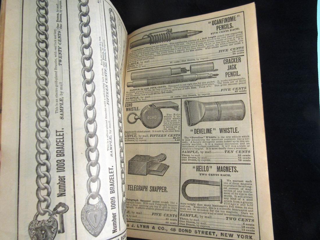 (2) J.Lynn & Co. Illus. catalogs 1800's - 5