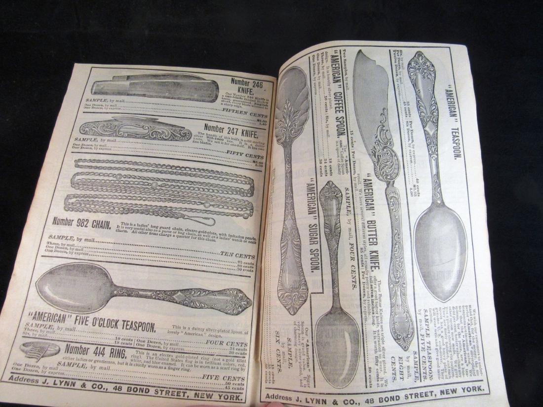 (2) J.Lynn & Co. Illus. catalogs 1800's - 6