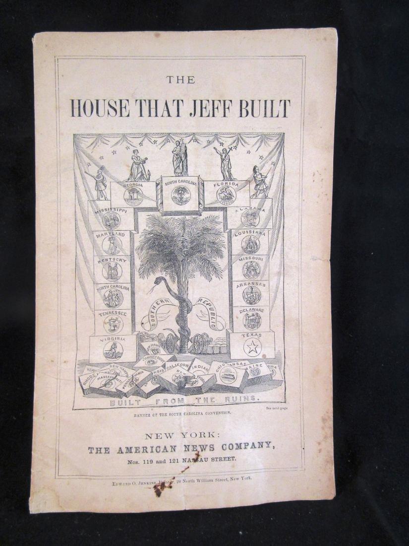 1868 Booklet Civil War