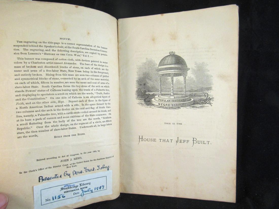 1868 Booklet Civil War - 2