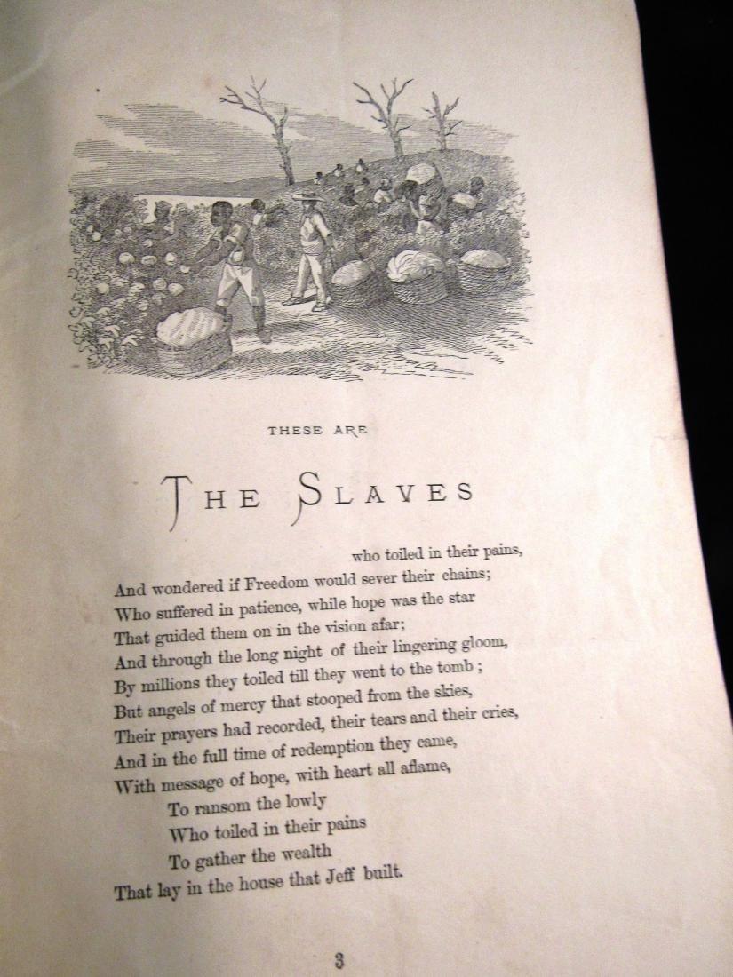 1868 Booklet Civil War - 4