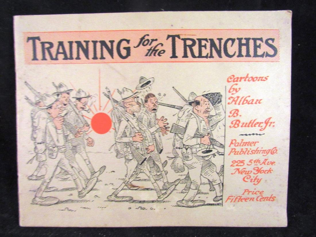 WWI 1917 cartoons by A.Butler