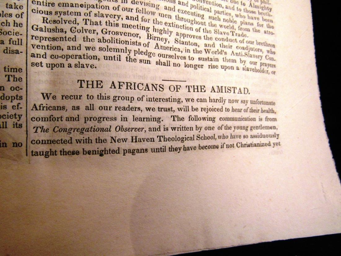 Abolitionist newspaper Sep 1840 - 3