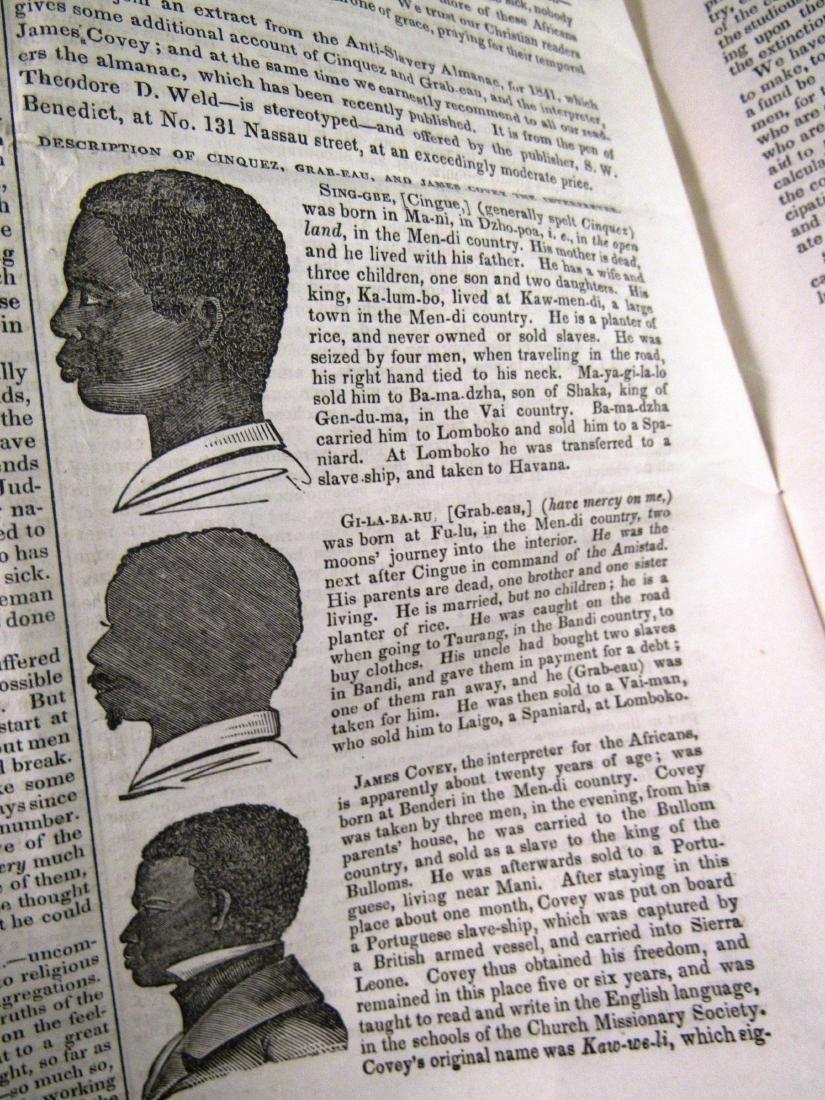 Abolitionist newspaper Sep 1840 - 4