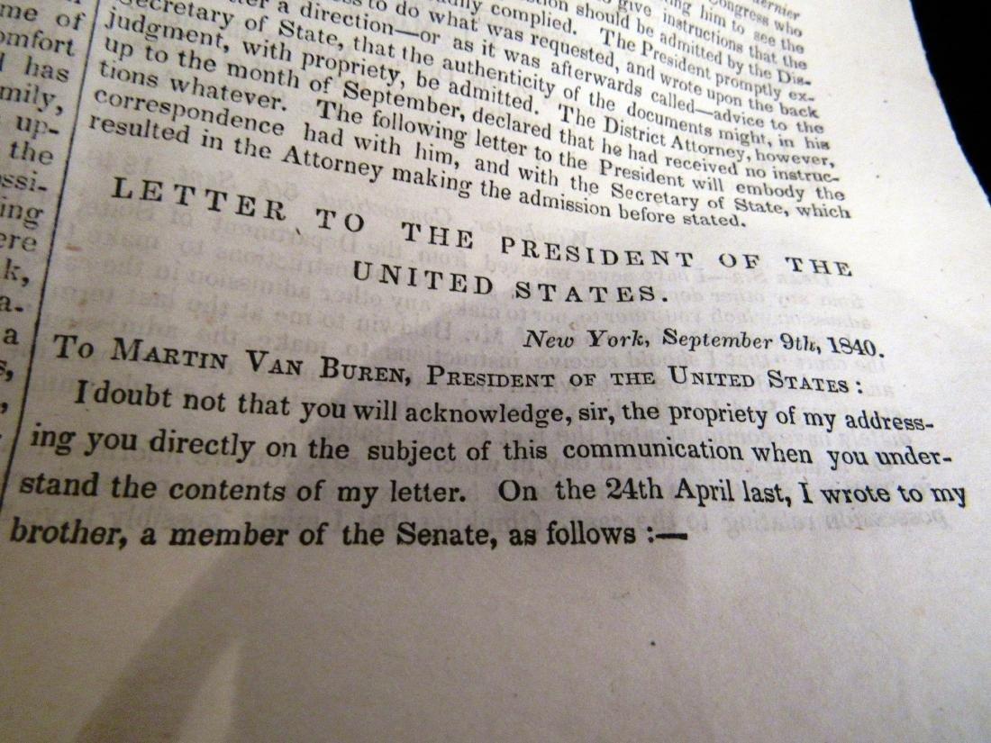Abolitionist newspaper Oct 1840 - 5