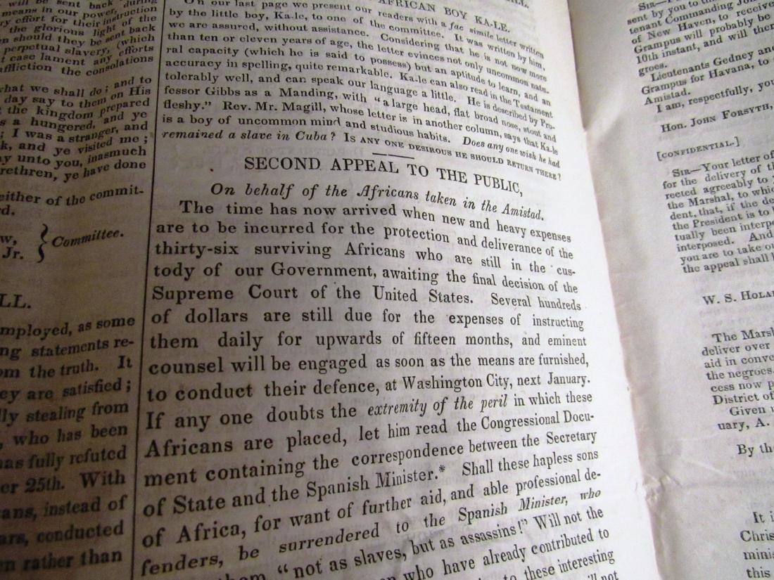 Abolitionist newspaper Oct 1840 - 6