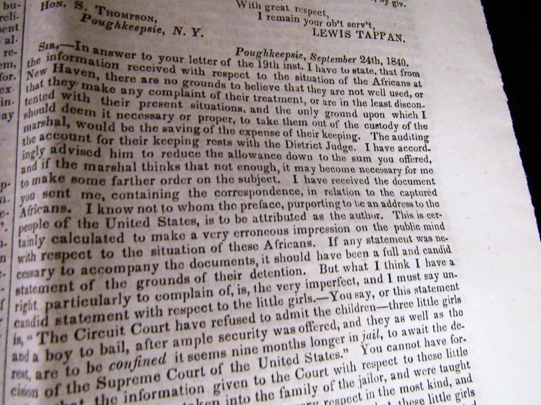 Abolitionist newspaper Dec 1840 - 4