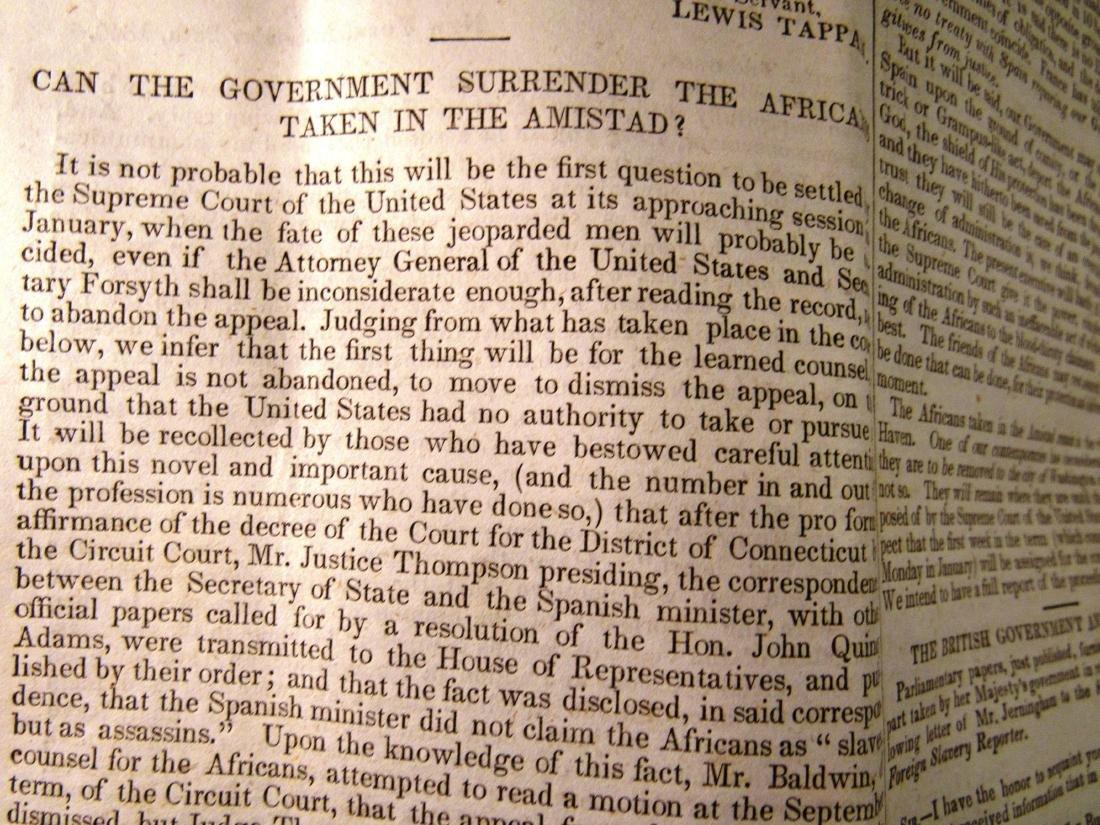 Abolitionist newspaper Dec 1840 - 5