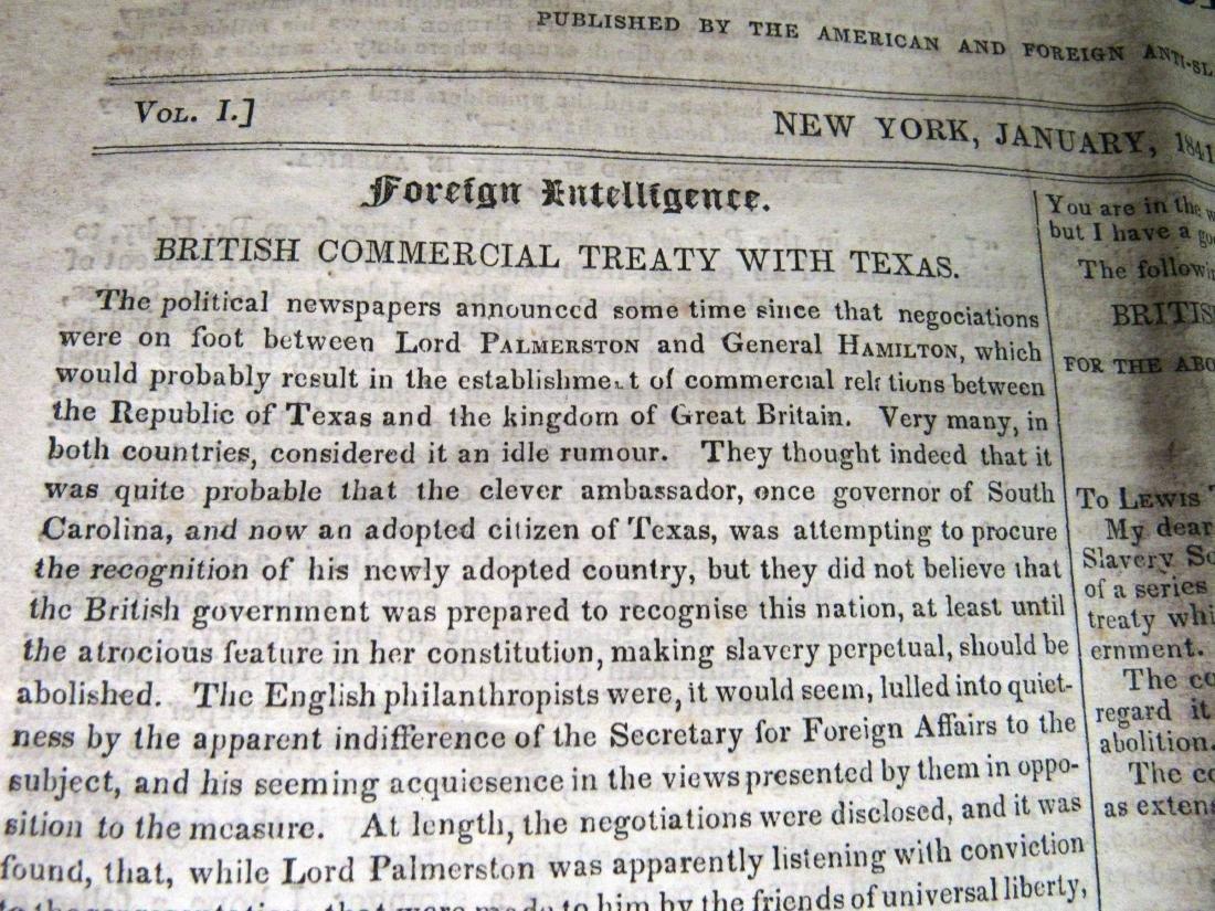 Abolitionist newspaper Jan 1841 - 3