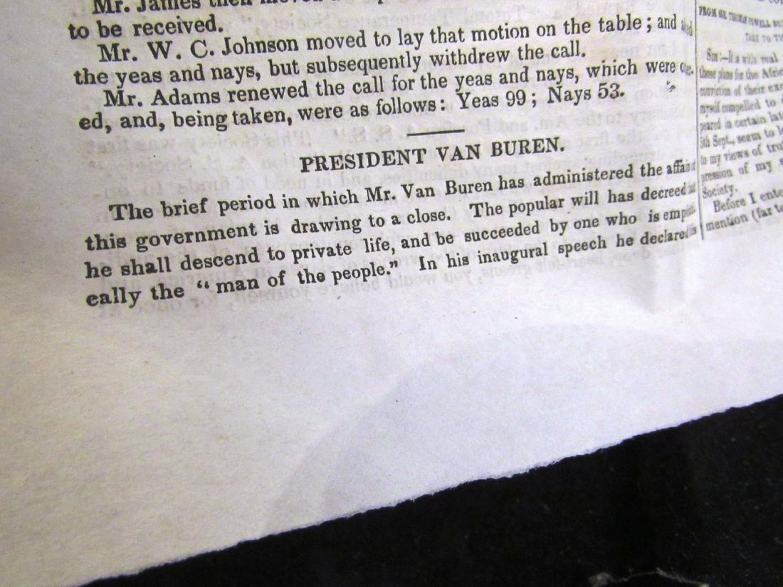 Abolitionist newspaper Jan 1841 - 4
