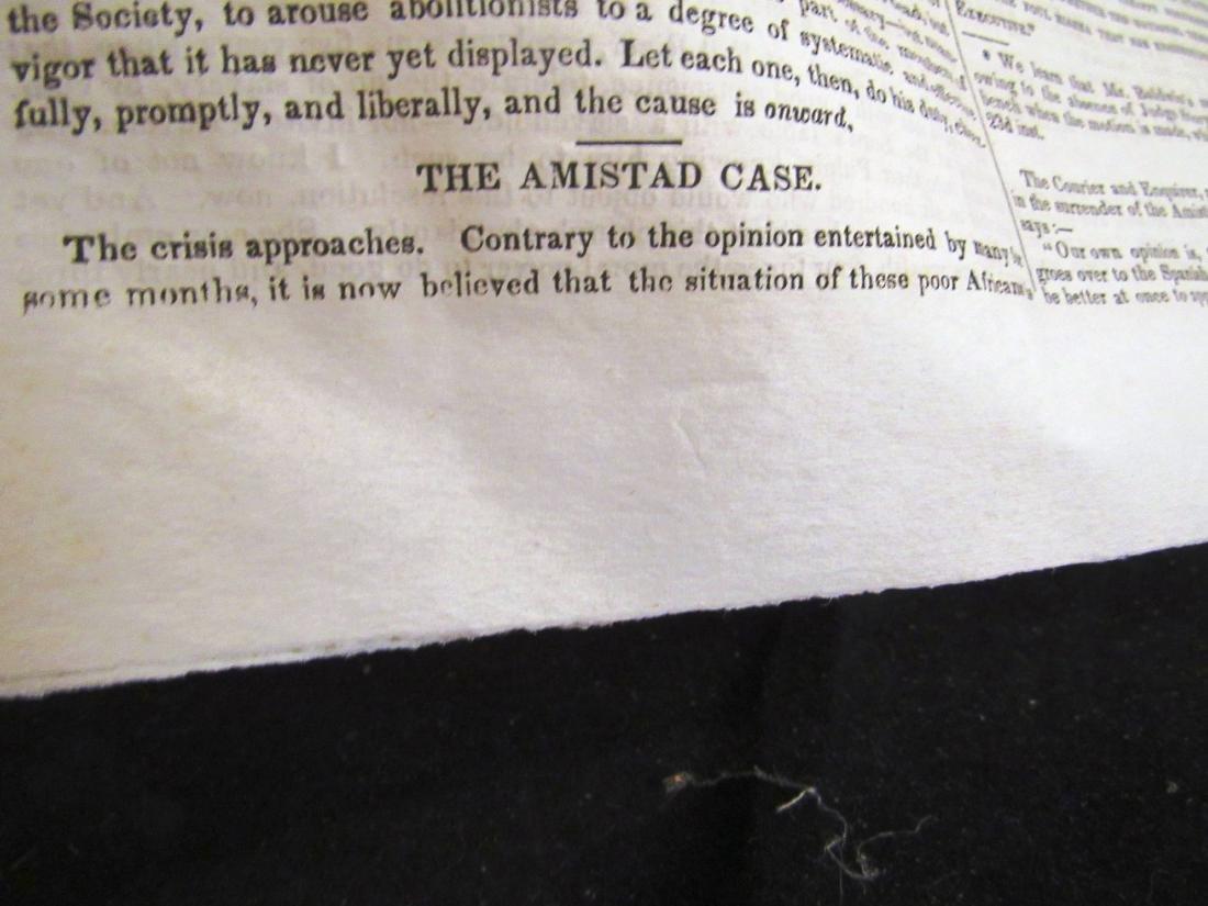 Abolitionist newspaper Jan 1841 - 5