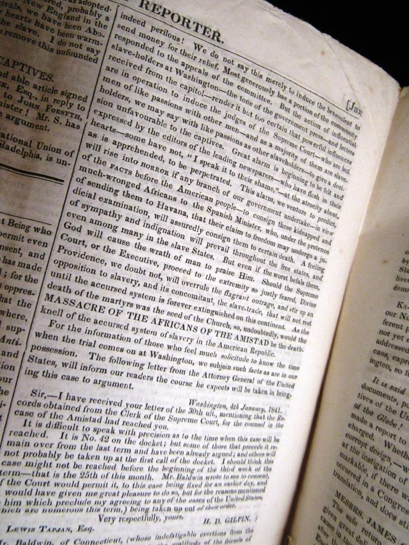 Abolitionist newspaper Jan 1841 - 6
