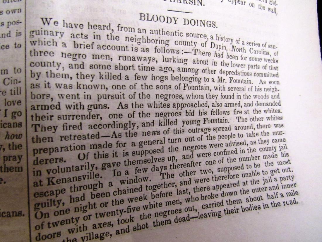 Abolitionist newspaper Jan 1841 - 7