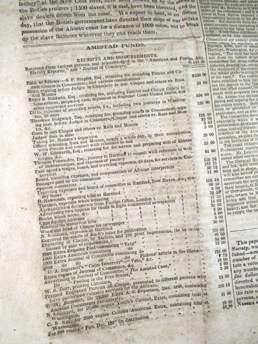 Abolitionist newspaper Apr 1841 - 3