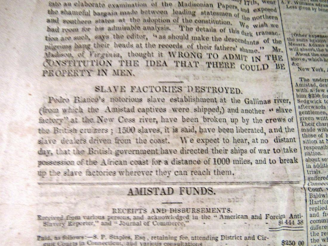 Abolitionist newspaper Apr 1841 - 4