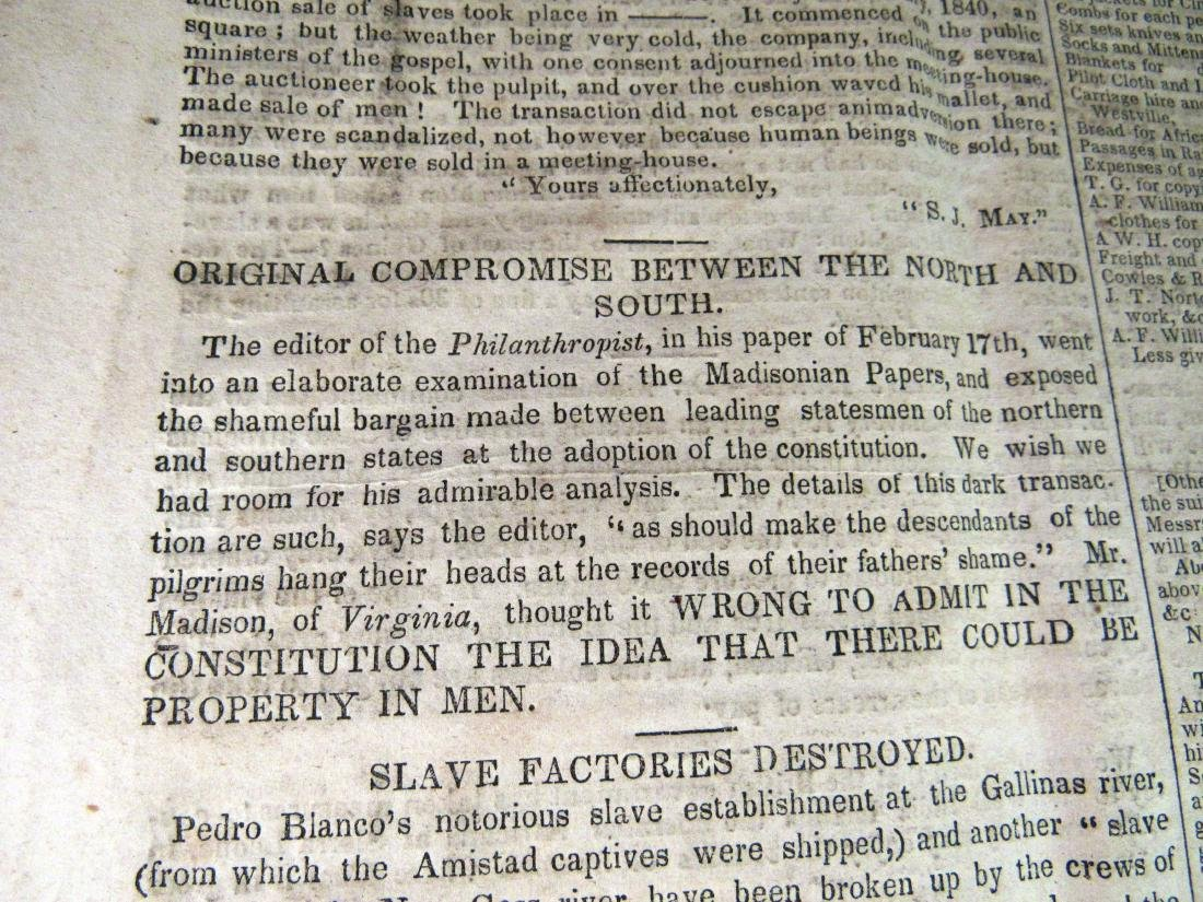 Abolitionist newspaper Apr 1841 - 5