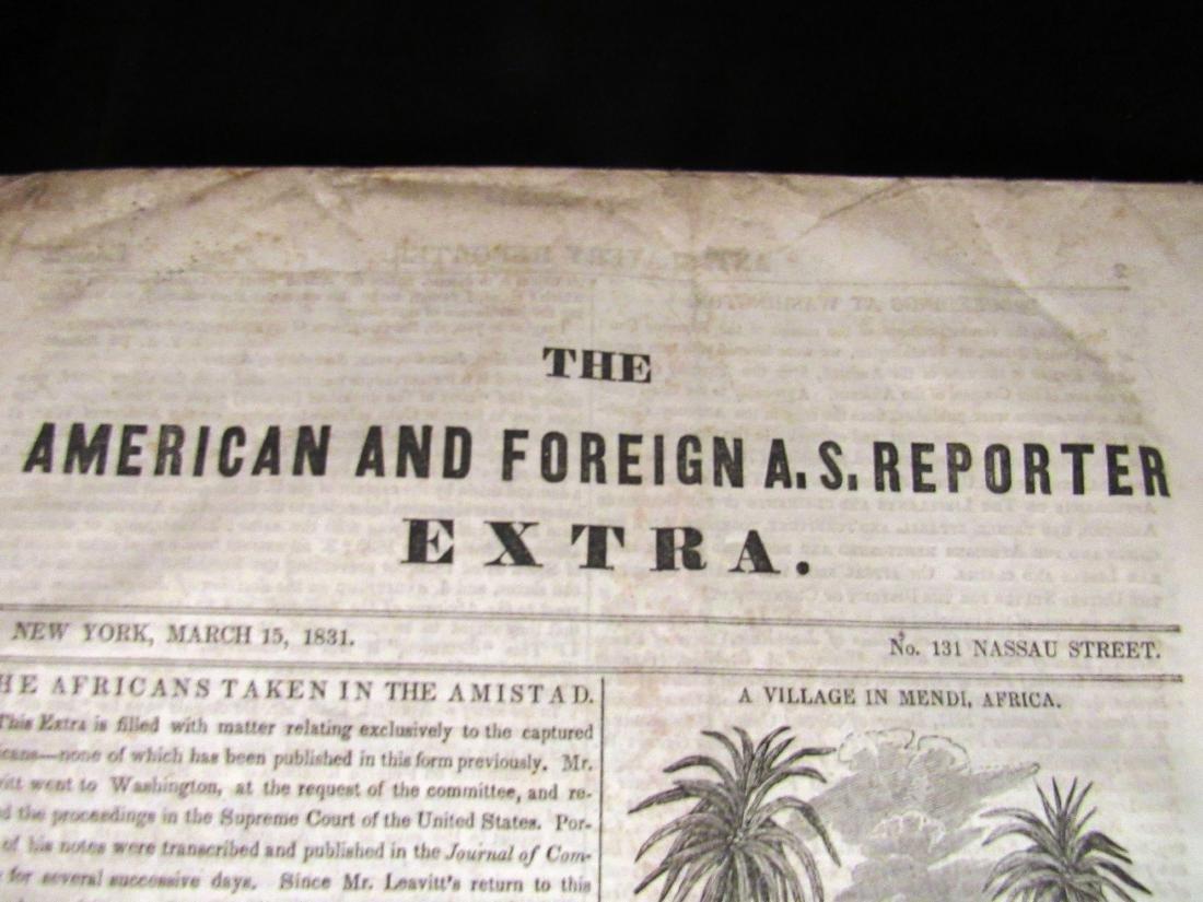 Abolitionist newspaper June 1841 Amistead - 2
