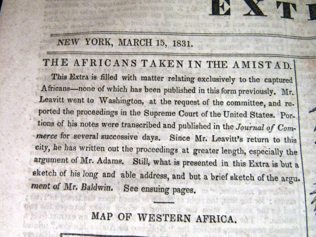 Abolitionist newspaper June 1841 Amistead - 3