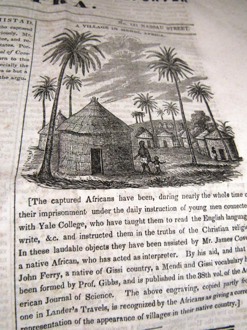 Abolitionist newspaper June 1841 Amistead - 5