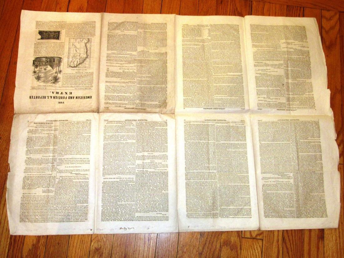 Abolitionist newspaper June 1841 Amistead - 8