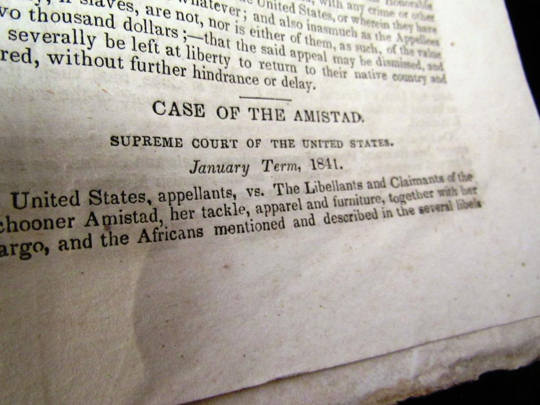 Abolitionist newspaper June 1841 Amistead - 9