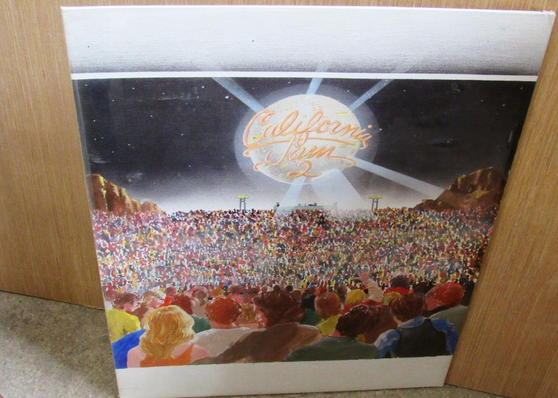 California Jam 2 album painted concept design