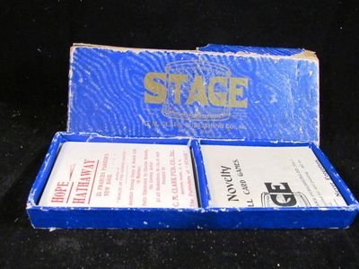 """""""Stage"""" 1904 boxed movie star card game - 2"""