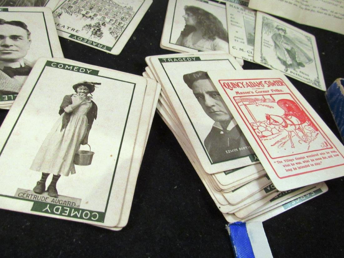"""""""Stage"""" 1904 boxed movie star card game - 3"""