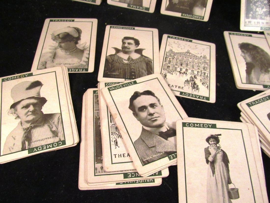 """""""Stage"""" 1904 boxed movie star card game - 4"""