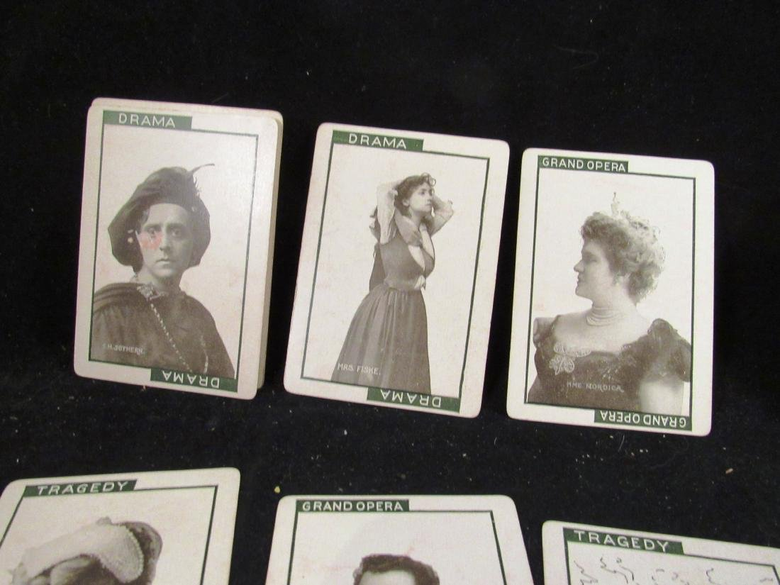 """""""Stage"""" 1904 boxed movie star card game - 5"""