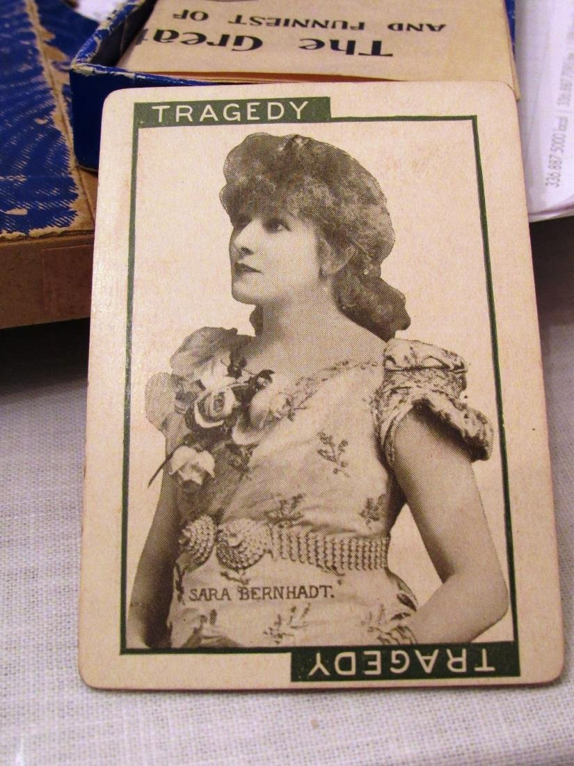 """""""Stage"""" 1904 boxed movie star card game - 8"""