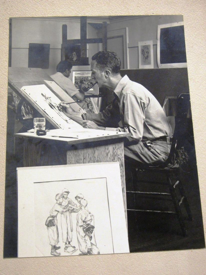 Norman Rockwell (1891-1978)  by T Rockwell - 2