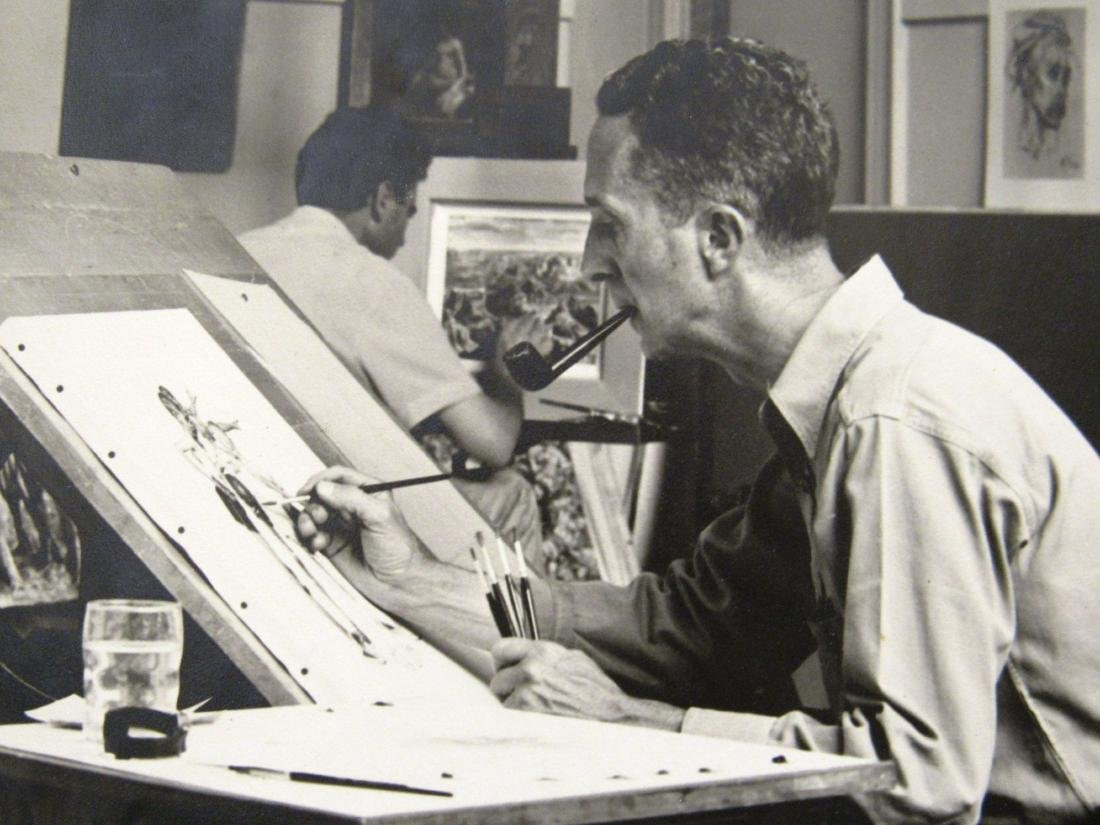 Norman Rockwell (1891-1978)  by T Rockwell - 3