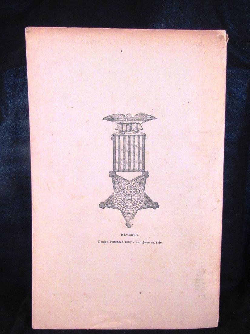 1886 Journal GAR Civil war Vets - 2