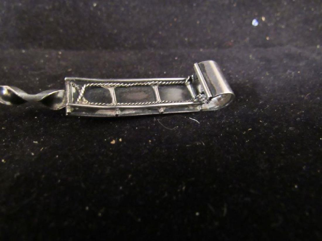 Lot of (3) Sterling silver items - 6