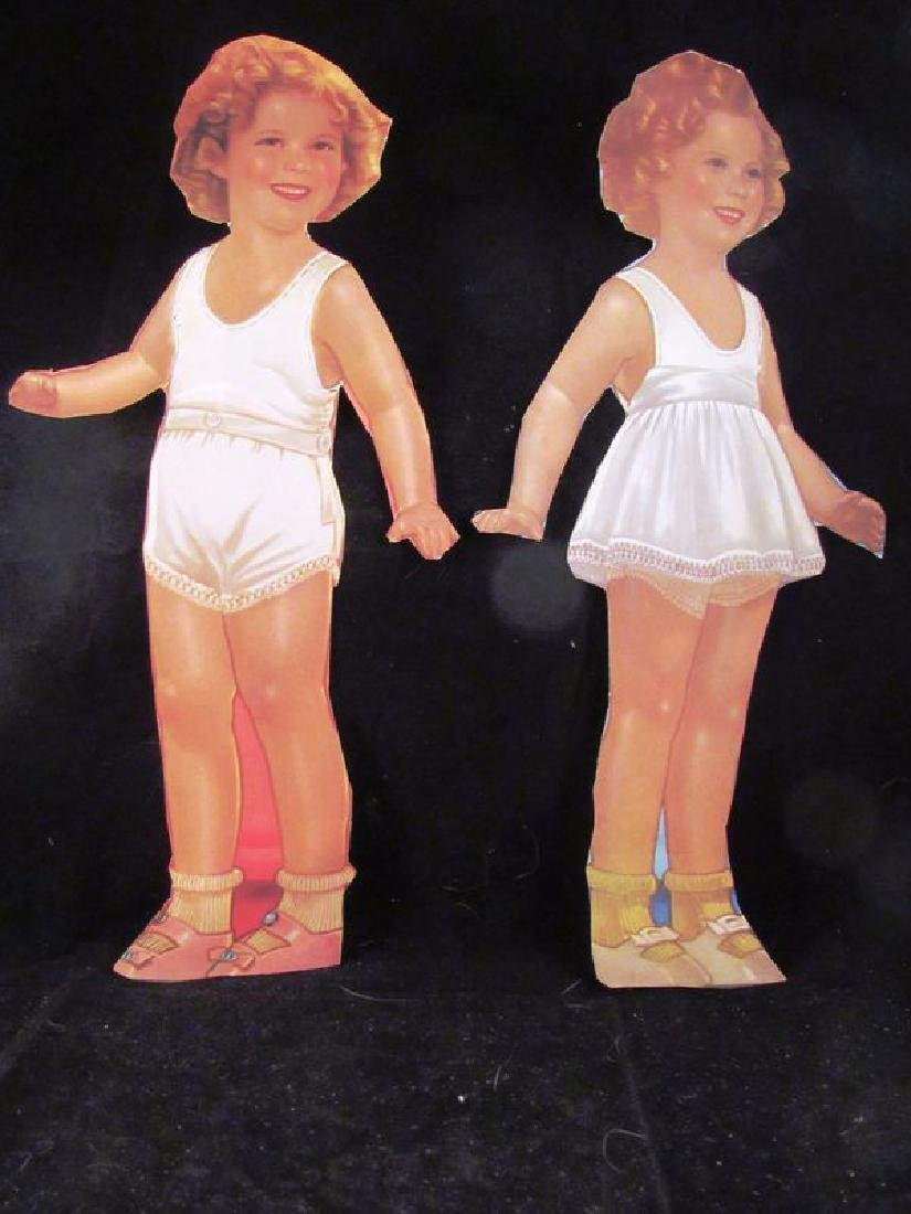 1930's paper dolls Shirley Temple, Jane Withers