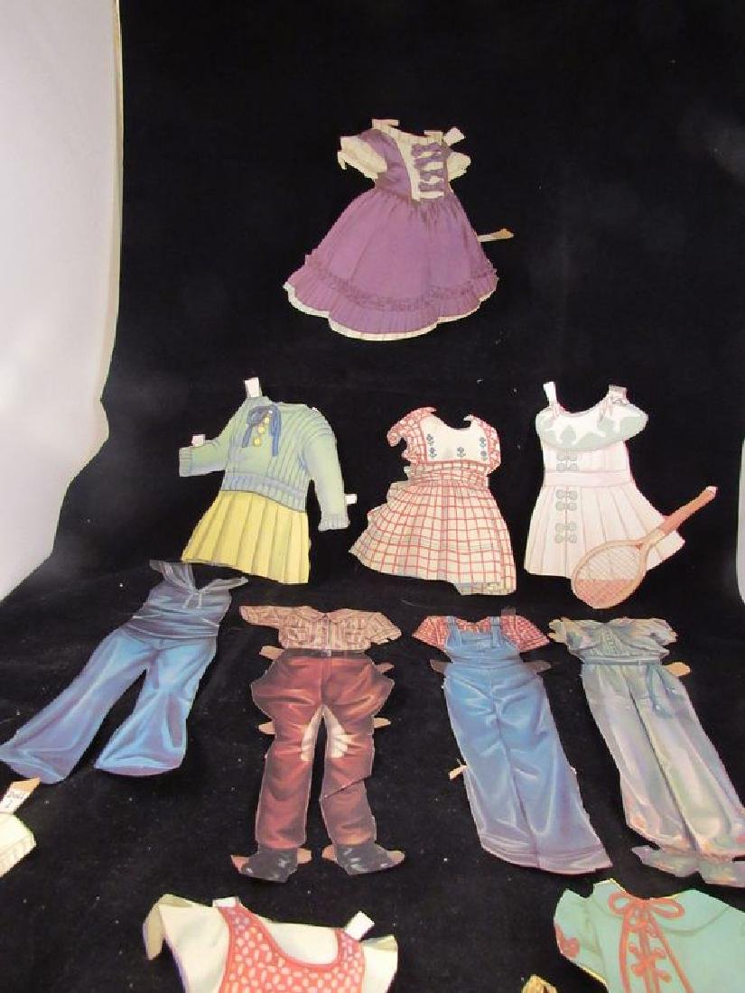 1930's paper dolls Shirley Temple, Jane Withers - 3