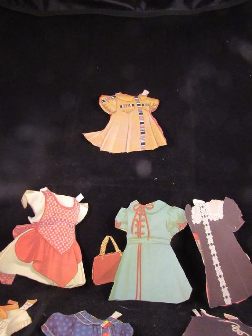 1930's paper dolls Shirley Temple, Jane Withers - 4