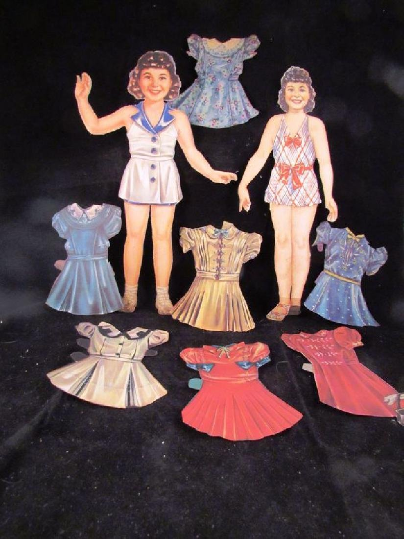 1930's paper dolls Shirley Temple, Jane Withers - 6