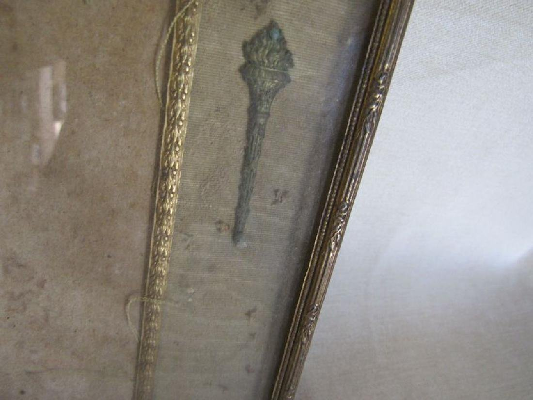 Antique bronze and brass lot (5) - 4
