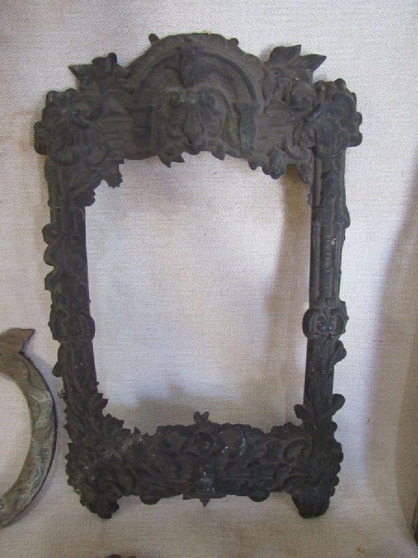 Antique bronze and brass lot (5) - 5