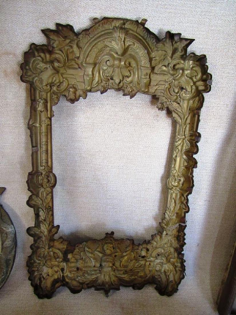 Antique bronze and brass lot (5) - 6