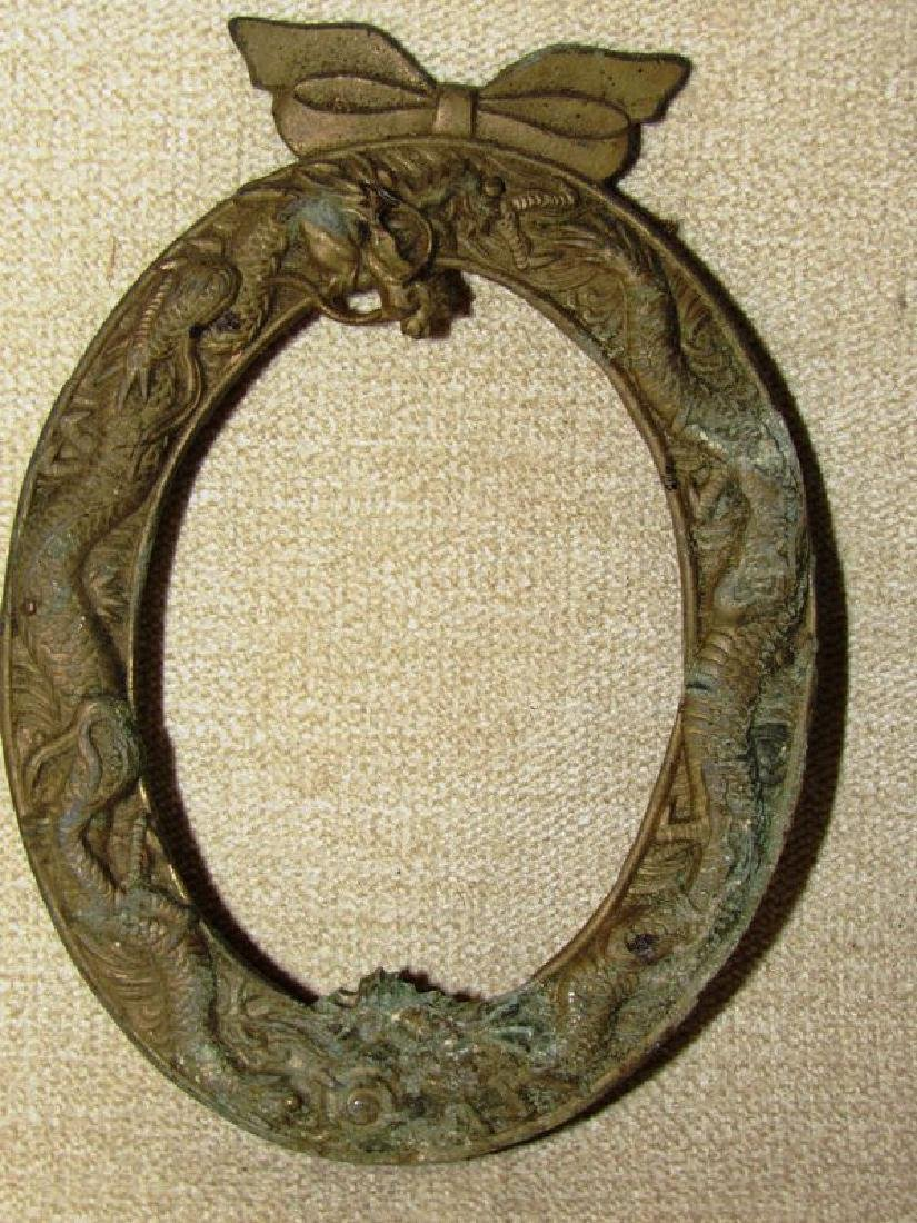 Antique bronze and brass lot (5) - 7