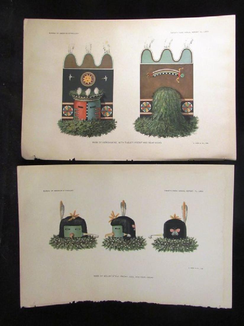 Zuni Indian prints (2) ca. 1901 - 3