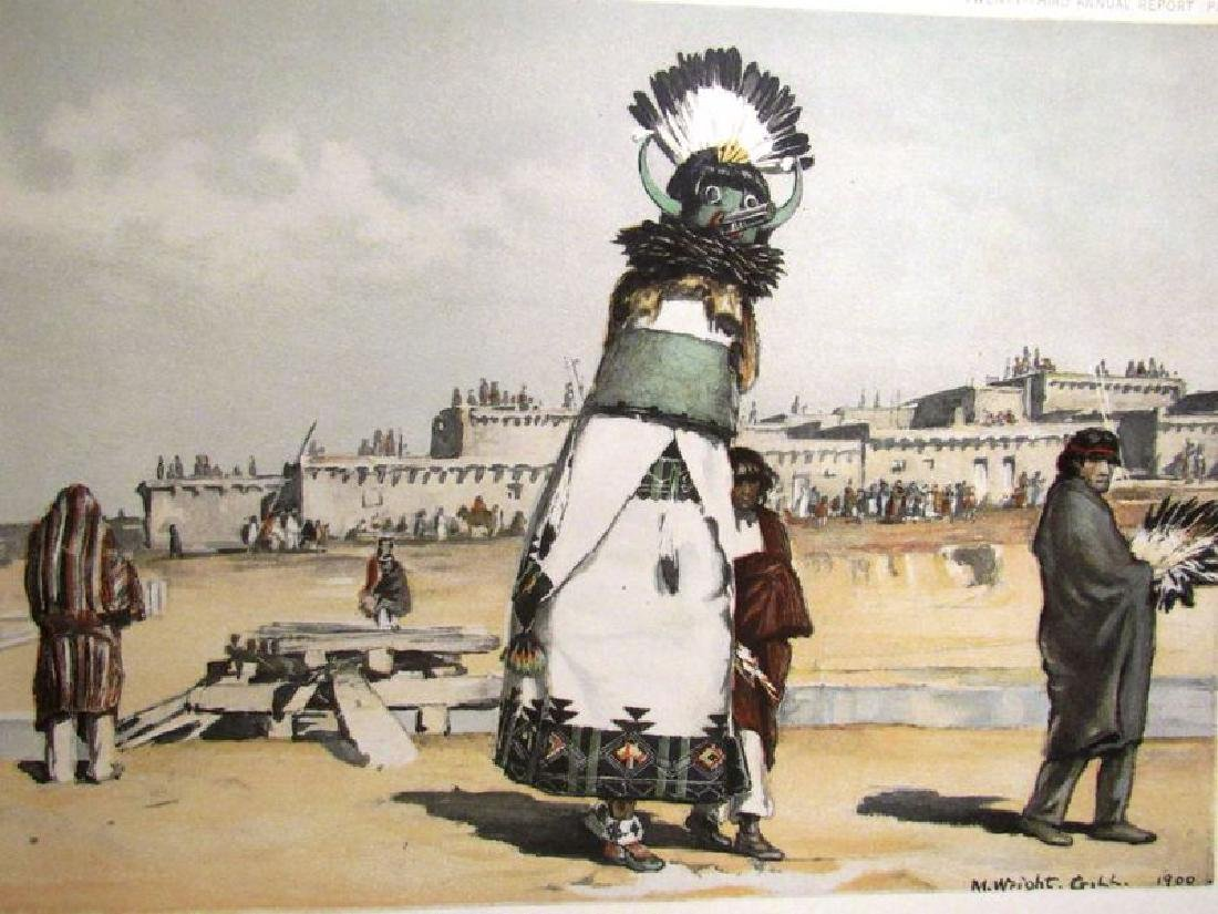 Zuni Indian prints (2) ca. 1901