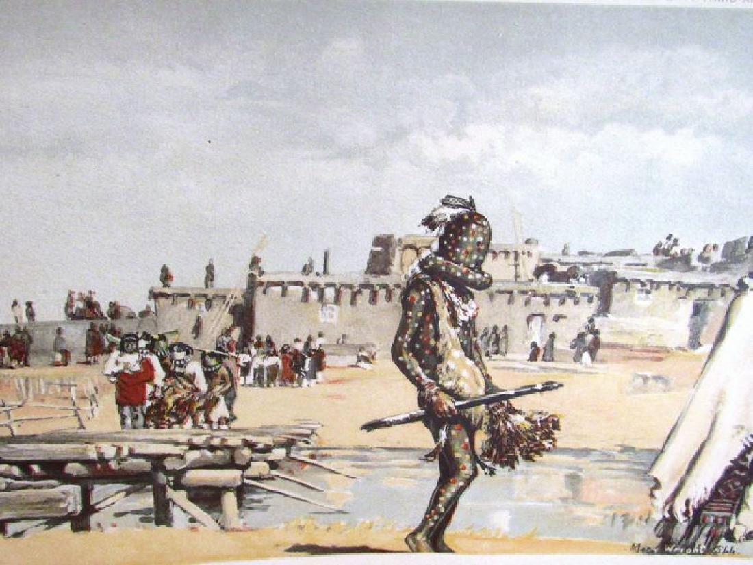 Zuni Indian prints (2) ca. 1901 - 2