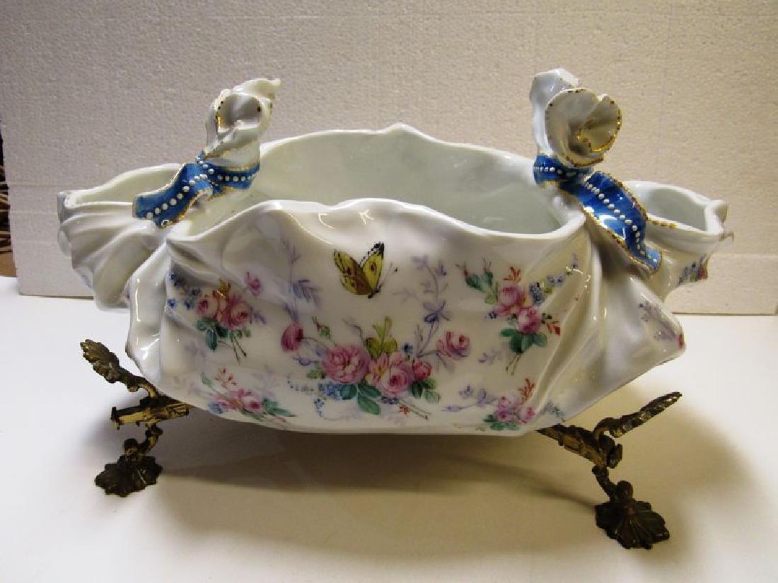 Antique Victorian fancy porcelain bowl